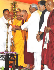 Inaugurated by His Holiness the Dalai Lama
